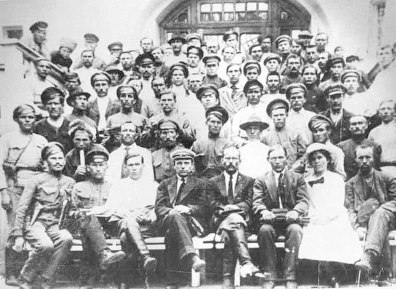 Делегаты Первого съезда удмуртов 1918 года! Фотокаталог ГКУ ЦДНИ УР.