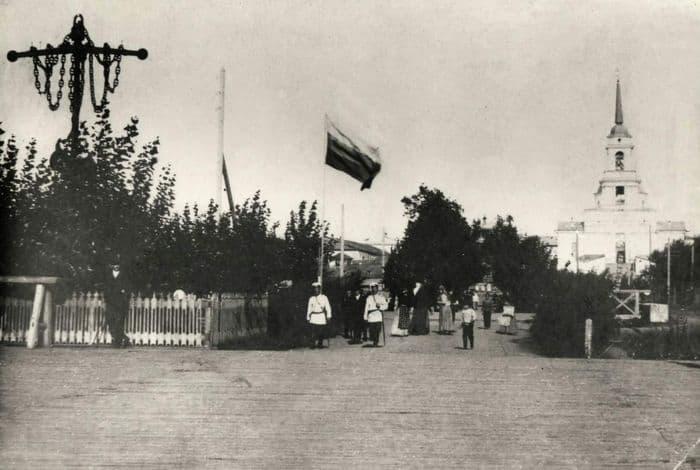 Воткинск,  Благовещенский храм. Фотографии старого Воткинска.