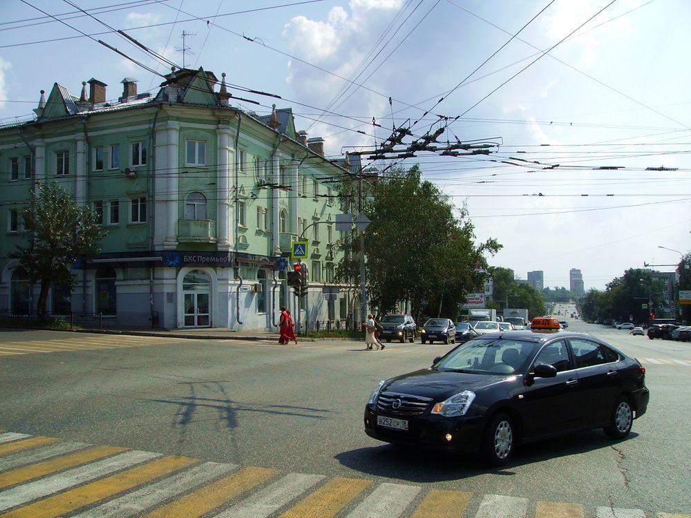 Дом с башенками в 2017 году. ДВА. Советская 34 Ижевск.