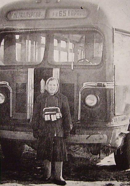 "Ижевский автобус на маршруте ""Ул. Металлургов -Р-н 65 бараков"". Ижевск."