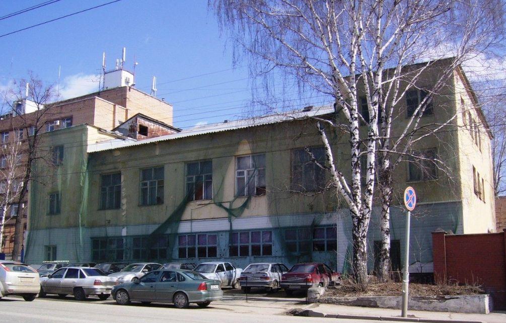 Старая пожарная часть на ул. М. Горького - готовится к сносу. Ижевск.