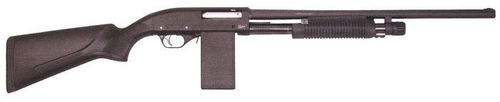 Помповое ружье МР-133К.