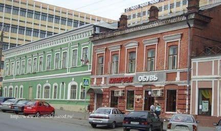 Магазины Василия Оглоблина, Горького 88 Ижевск.