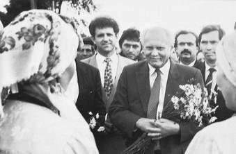 Президент Венгрии Арпад Гёнц в Малопургинском районе УР.