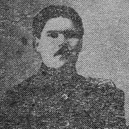 Начальник Глазовской уездной милиции Шутов Николай Федорович, первый председатель областной ЧК.