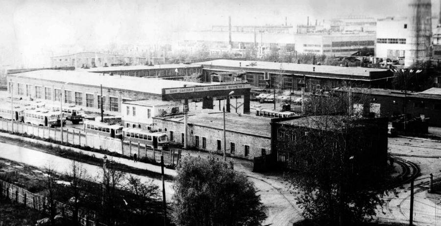 1 апреля 1965 года было введено в эксплуатацию трамвайное депо №2. Ижевск.