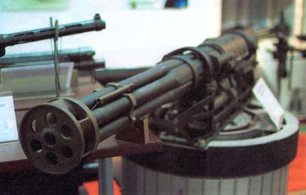 Авиационная пушка ГШ-6-23