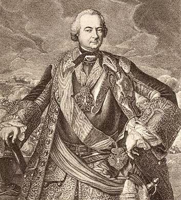 Граф Пётр Иванович Шувалов.