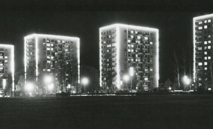 Ижевск. Центральная площадь. 1978 год.