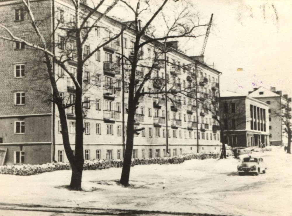 Ул. Красногеройская, 1960-е. Ижевск г.
