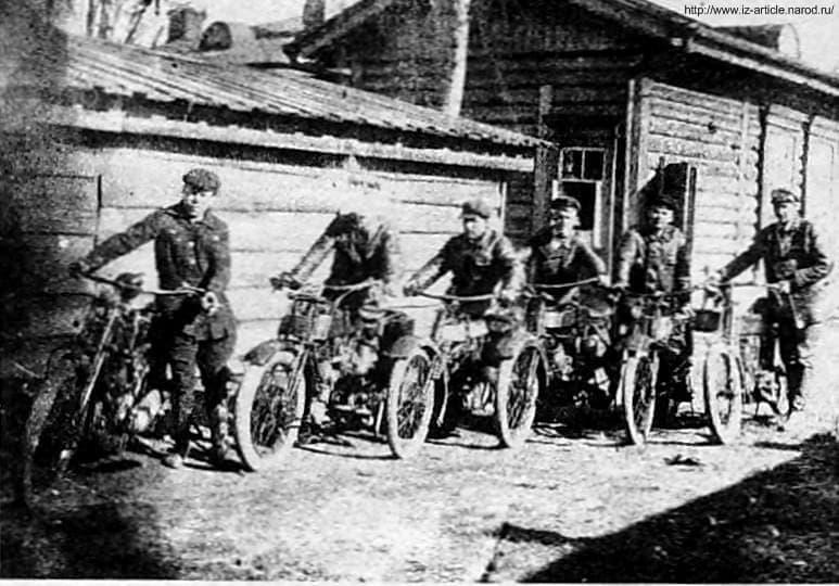 Фото мотоциклистов в Ижевске.
