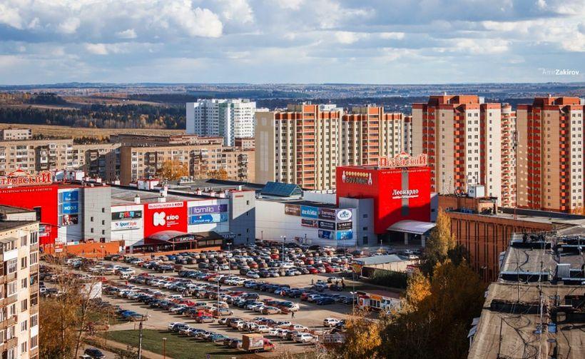 ТЦ Петровский Петрова 29. Октябрь 2016 года. Фото: Амир Закиров.
