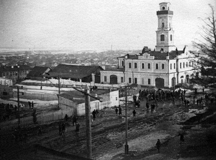 Пожарная каланча построенная в 1887 году в Сарапуле.