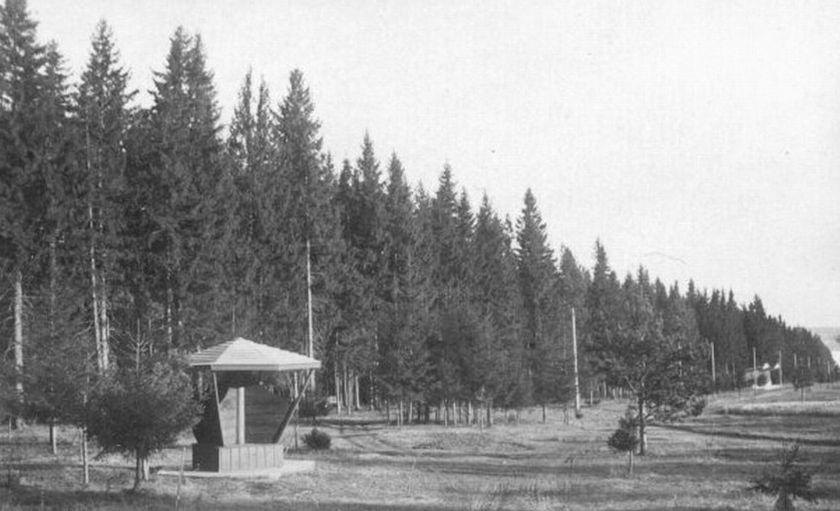 Парк Кирова. 1930-40 -е годы. Фото К.А. Тихонова.