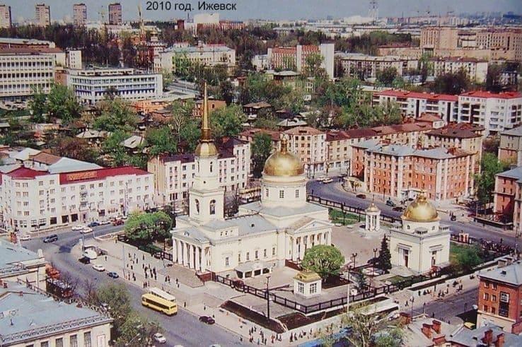 Современный Александро-Невский собор, Ижевск. 2010 год