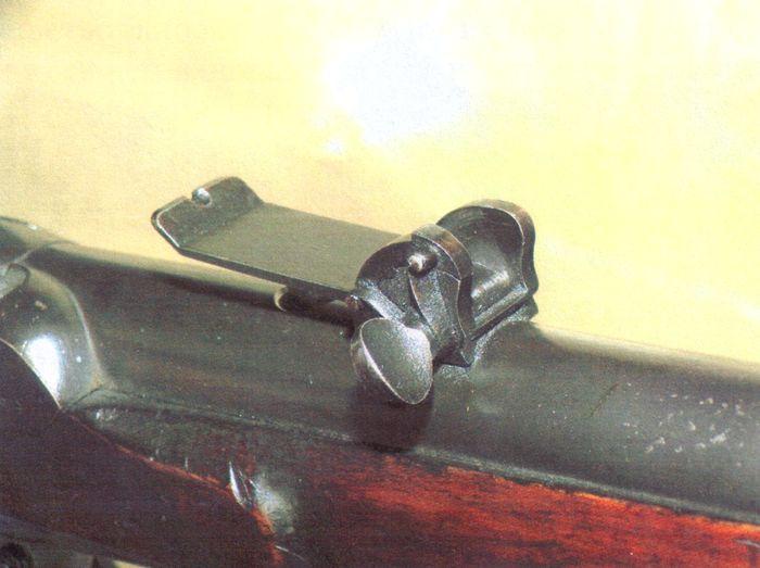 Усовершенствованный на Ижевском оружейном заводе «гессенский» прицел.