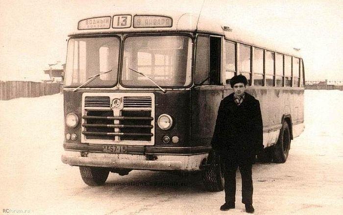 Автобус в Ижевске.