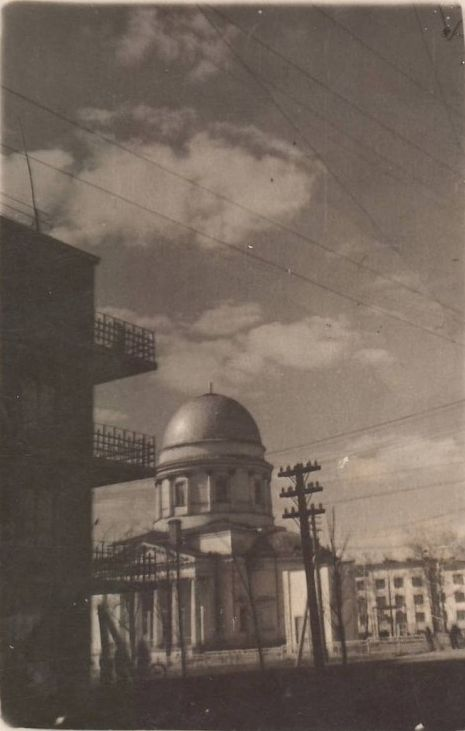 Ул. Красная 131, Александро-Невский собор. Ижевск. 1922 год.