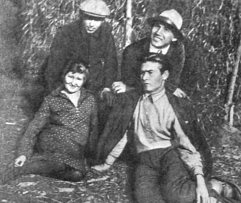 Этнографическая экспедиция. Кузебай Герд с ее участниками. 1924 г.