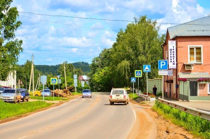 Село Шаркан. Удмуртия. 2019 г.