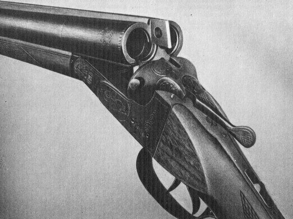 Двуствольное горизонтальное ружьё  ИЖ-54