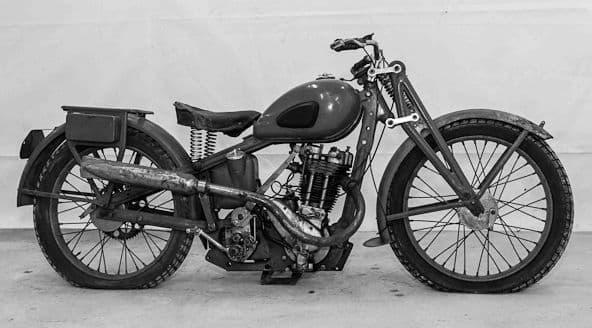 Мотоцикл ИЖ-12