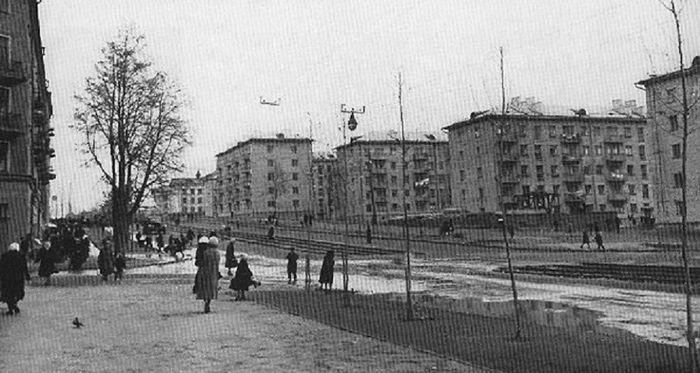 Ул.Ленина (Труда)  60-е годы. Ижевск г.