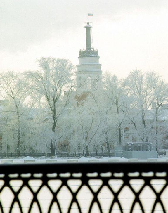 Башня Ижевского оружейного завода. Конец 90-х годов.