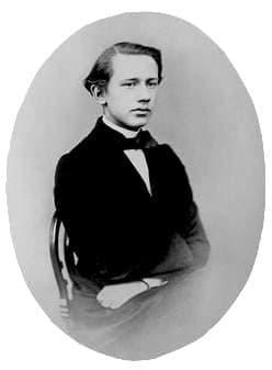 Чайковский Петр Ильич, 1862г.