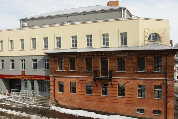Дом Юровского на Свердлова 22. Ижевск. Сейчас тут находиться Бюро МСЭ. 2020 год.