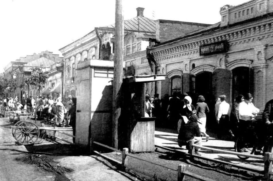 Улица Горького, 1938 год. Ижевск.