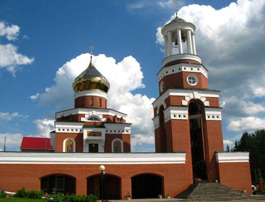 Якшур-Бодья. Храм в честь Св.Николая.