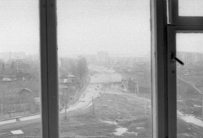 Улица Кирова. Район Колтома. Фото 1972-1973г. Ижевск.