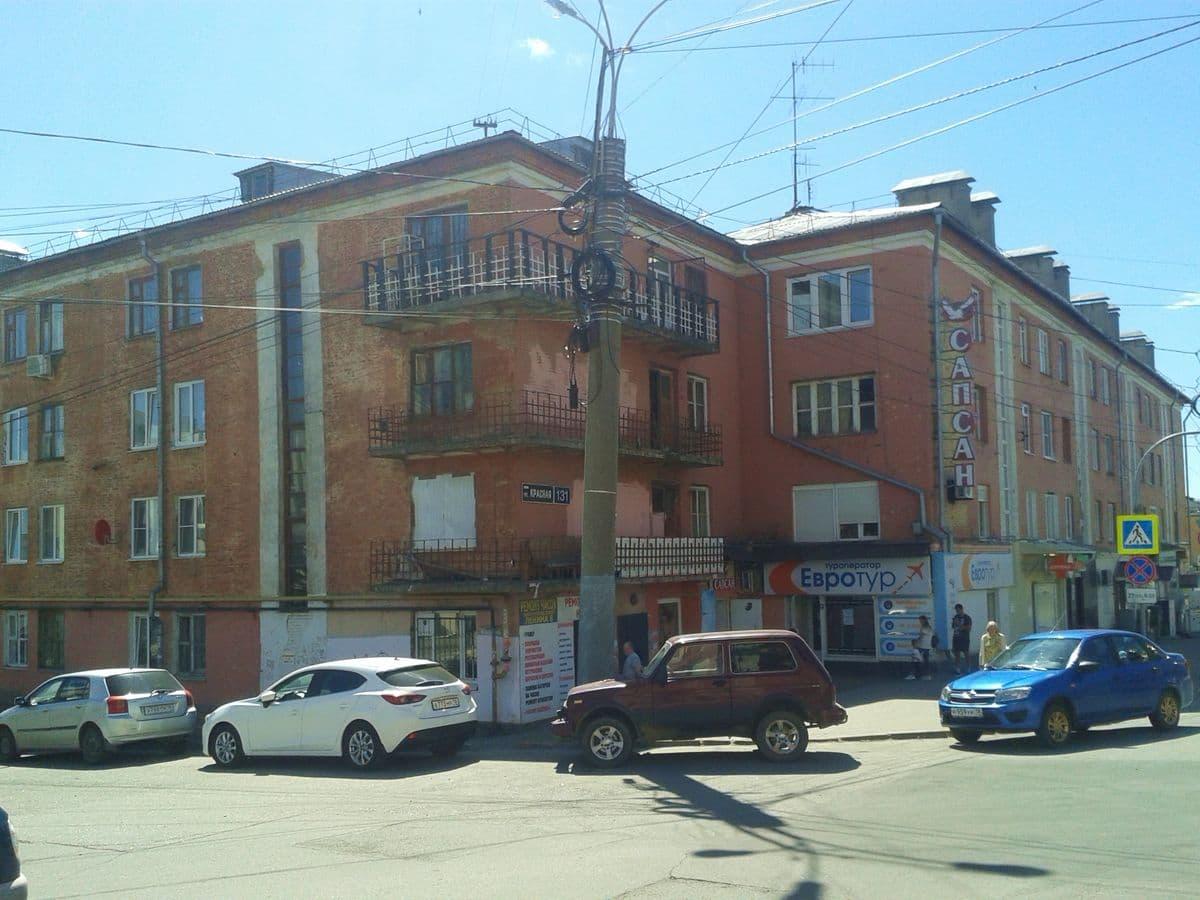 Ул. Красная 131. Ижевск. 19.06.2020. ДВА.
