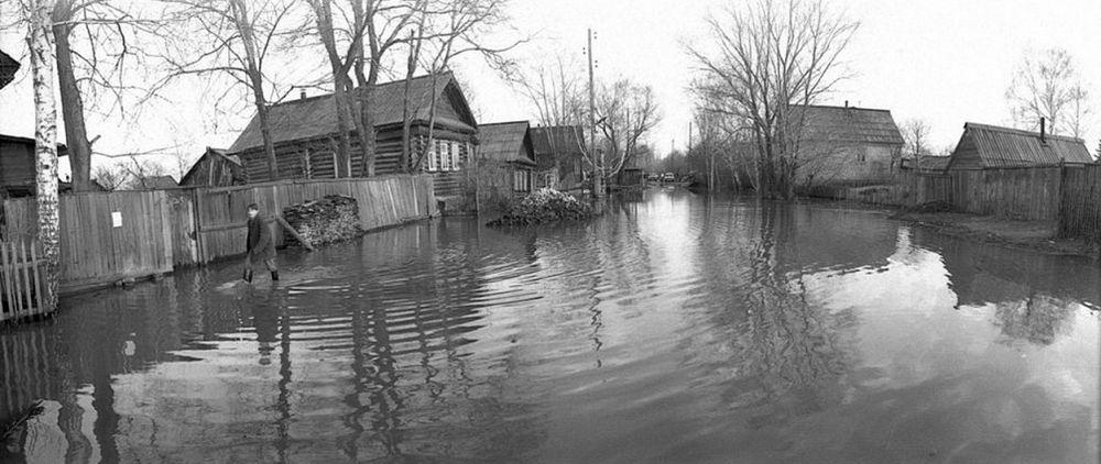 Наводнение в Ижевске 1979 года.