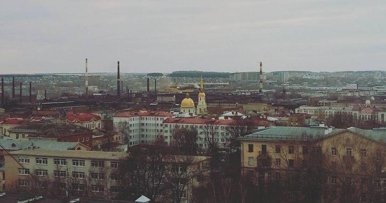 Ижевск. Дома №169 и 171 по ул.Красноармейская. Фото Марина Докучаева. 2017 год.