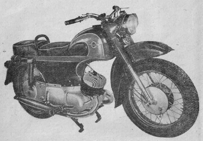 Мотоцикл ИЖ-250 Сатурн