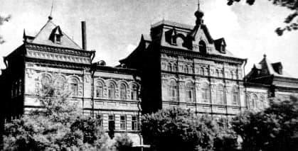 Богадельня Созыкина А.И. в г. Воткинске (Красная больница). 1902-1906 гг. Архитектор Чарушин И.А.