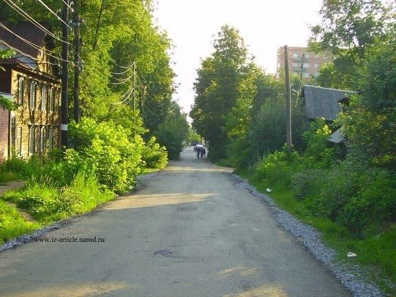 Улица Шумайлова. Ижевск. 2011 г. ДВА.