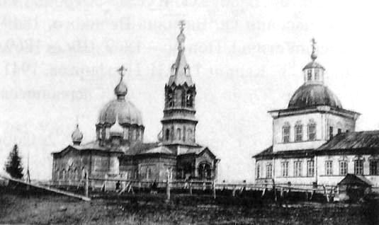 Покров Пресвятой Богородицы. Приход основан в 1837 г. Каменная. Русский стиль. Храм полностью восстановлен к 1998 г.