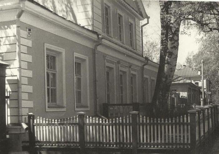 Дом-музей П.И. Чайковского, 70-ые годы. Воткинск.