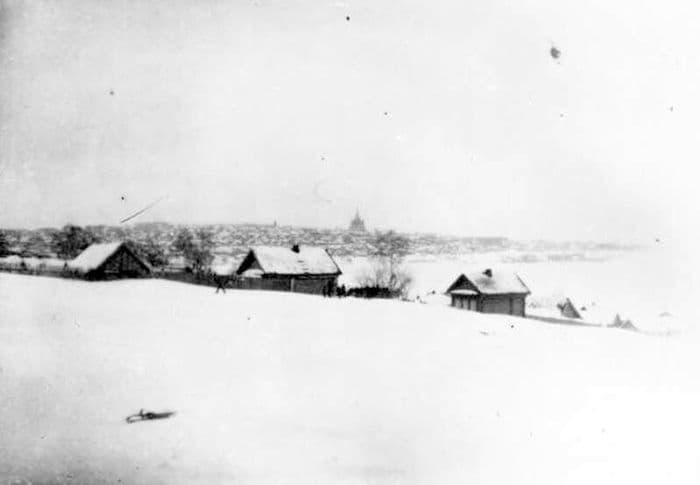 Вид на Ижевск со стороны Колтомы, 1920-е