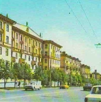 Пушкинская ул. 80-ые годы. Ижевск.