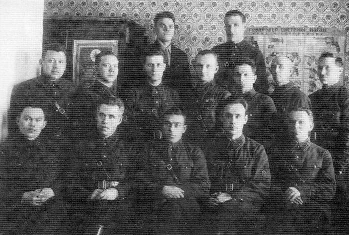 Сотрудники Удмуртского отдела ГПУ СССР, 1930 г.