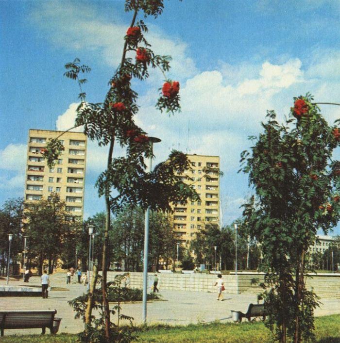 Центральная площадь Ижевска. Фото 1981 г.