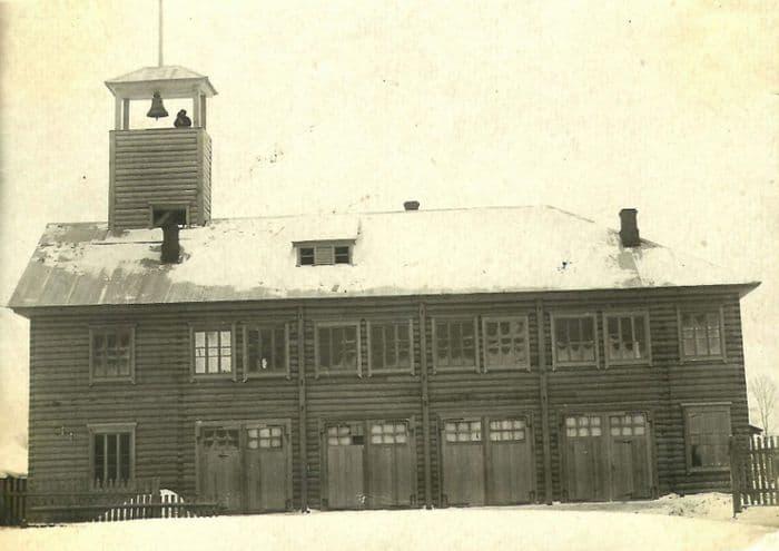 Пожарное депо города Можга. 1934 г.