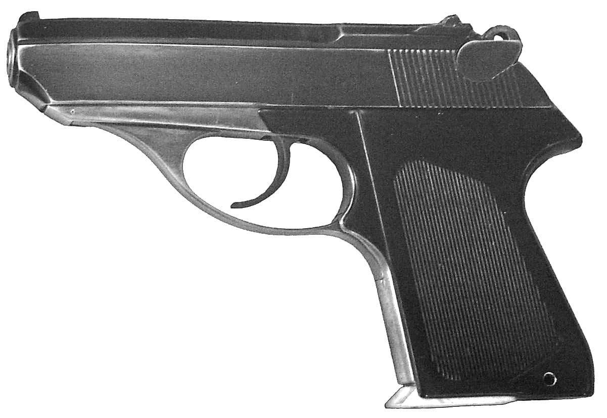 Пистолет ПСМ.