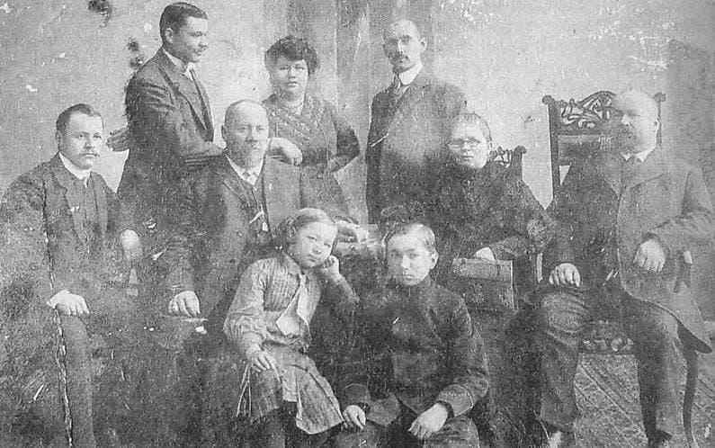 Семьи   фабрикантов-оружейников Ижевска Березиных и Петровых