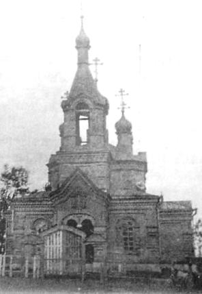 Малая Пурга. Храм в честь Михаила Архангела.