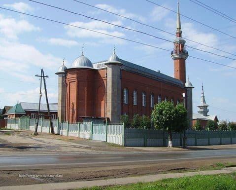 Мечеть на улице Азина. Ижевск.